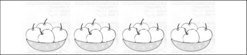 Ваза с яблоками поэтапное рисование