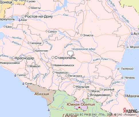 Округ северо-кавказский федеральный