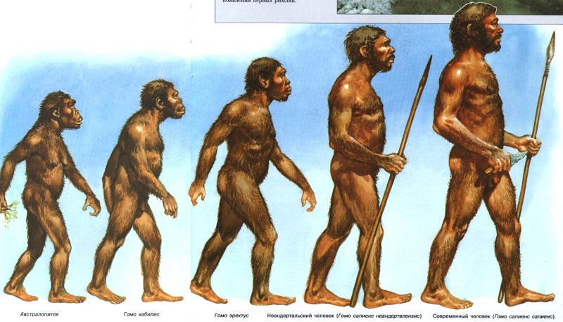 Первые люди на земле Коллекция изображений
